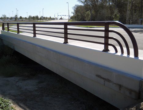 precast concrete bridge system