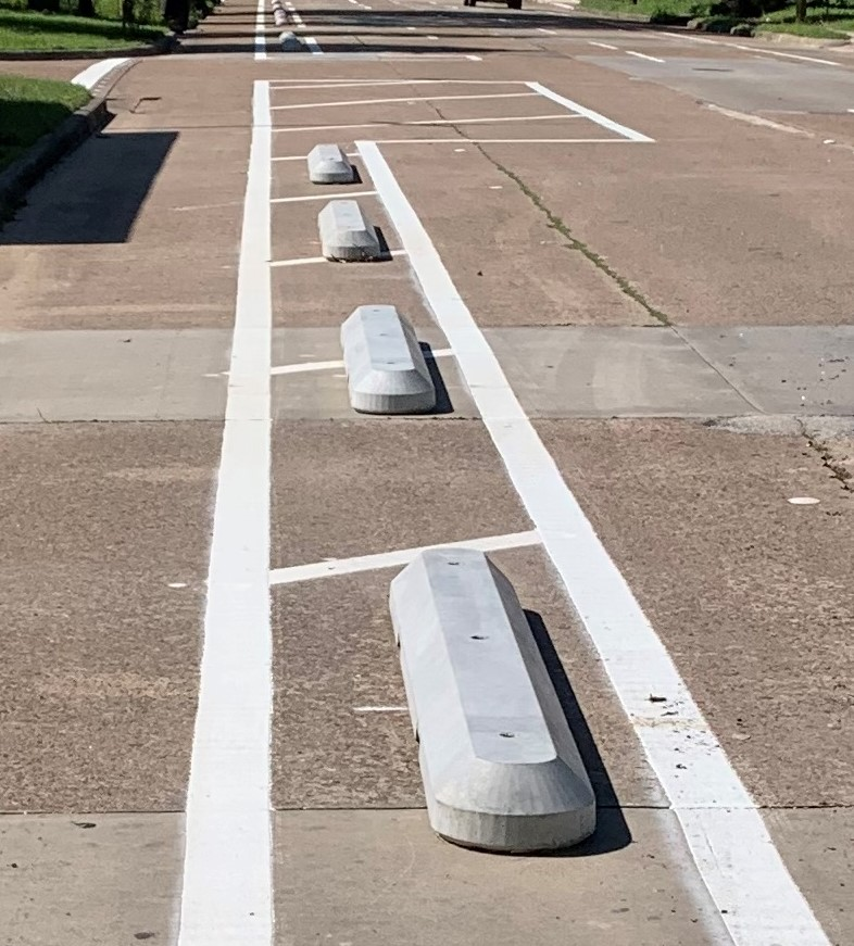 Precast Longitudinal Channeling Curb System