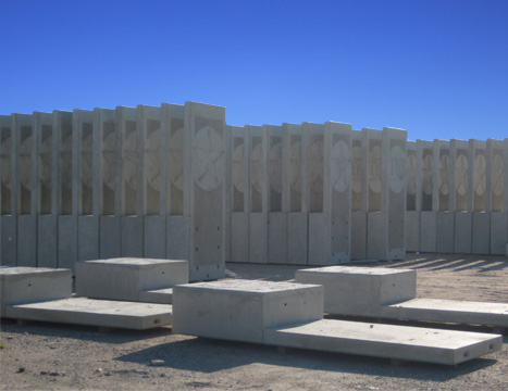 custom precast products custom precast signage and other products
