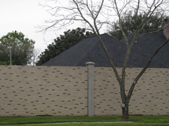 precast concrete privacy wall systems