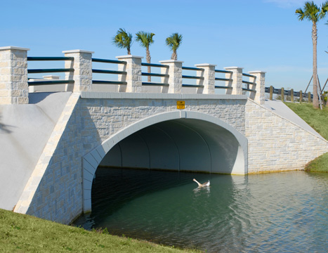 Precast concrete bridge systems by Tricon