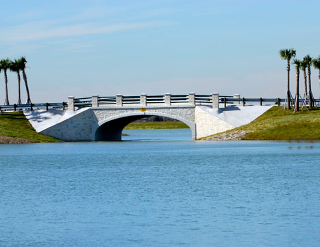 precast redi-span concrete bridge