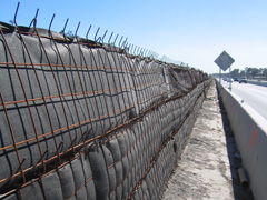 highway construction wire wall systems